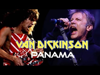 What if Bruce Dickinson sang for VAN HALEN?! #2 - Panama