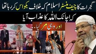 Allah Punish Gujrat CM When he was Speaking Against Islam I Dr Zakir Naik Logical #shorts