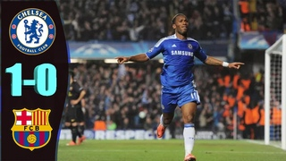 Chelsea vs Barcelona (1-0) | Resolute Chelsea Defending | Didier Drogba | UCL Semi Final - 2011/12