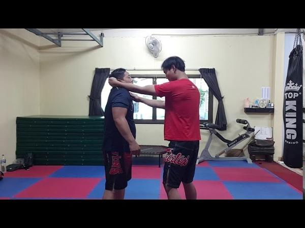 Muay Thai เทคนิคเข่าใน