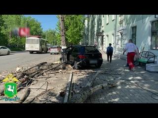 ДТП на перекрестке проспекта Кирова и улицы Советской в Томске
