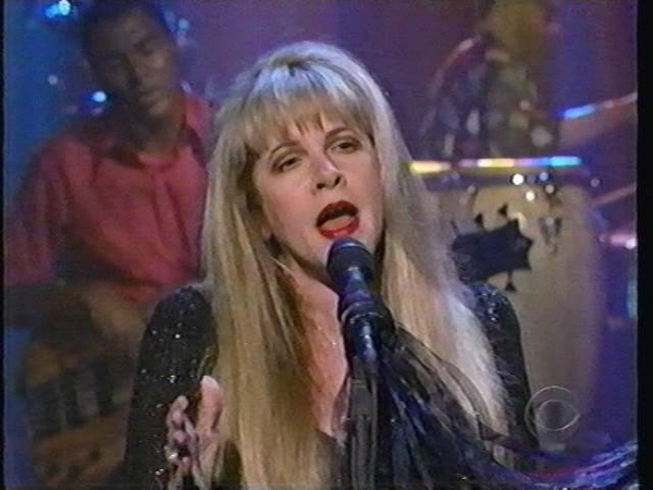 Stevie Nicks on Letterman Has Anyone Ever Written
