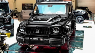 2020 Brabus G V12 900 Mercedes AMG G 63   Exclusive G Wagon from BRABUS