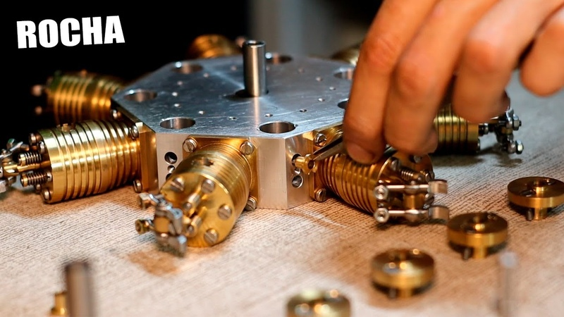 500 Horas tardé en fabricar este motor de 7 Cilindros