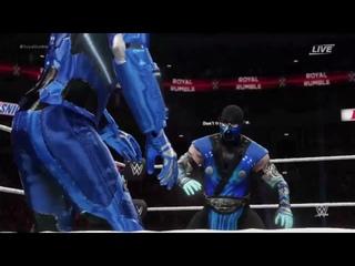 WWE 2k18 Mortal kombat Rumble 30 MAN