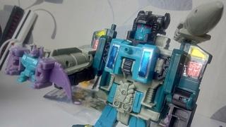 ТРАНСФОРМЕР ИЗ ДЕТСТВА - Ностальгический обзор KO Transformers G1 Super God Masterforce DOUBLEDEALER