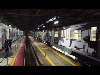 В метро появился тематический поезд, посвящённый московской промышленности в годы войны