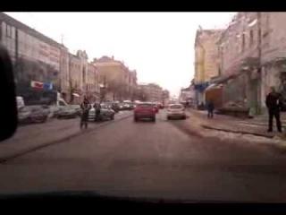 ДТП на пр. Московский, Харьков, 13 декабря 2013