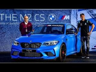 Fabio Quartararo won a BMW M2 Cs sports car