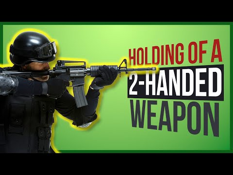 How To Rig A 2 Handed Weapon 3ds Max CAT Rigging Tutorial