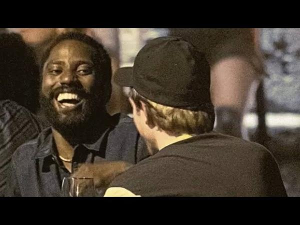 TENET MOVIE John David Washington Enjoying with Robert Pattinson ❤ CHRISTOPHER NOLAN ❤