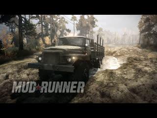 [18+] Шон месит грязь в Mudrunner (Xbox Series X, 2017)