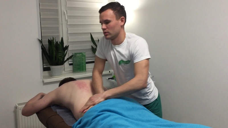 Спортивный массаж спины и шеи Восстановление Sports back and neck massage Recovery