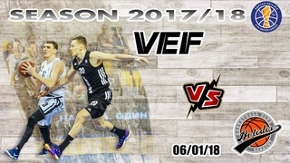 Avtodor Best Games | VTB League 2017-18 | VEF Riga vs. Avtodor 06-01-2018