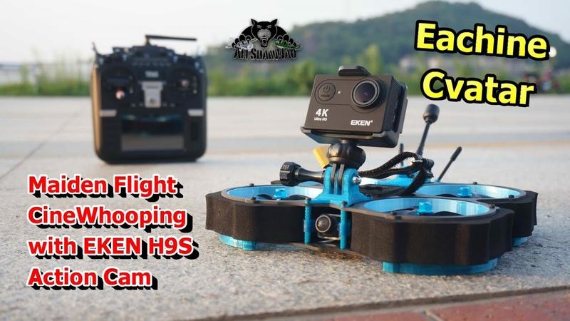 Eachine Cvatar 3 inch Ducted Fan Cinewhoop DJI FC F722 FPV racing Drone