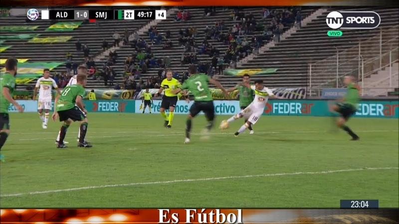 Aldosivi 1 San Marín (SJ) 0 - Fecha 18 - Gol, Notas y Resumen