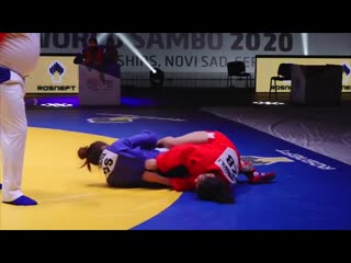 Гульфия Мухтарова - Чемпионка мира по самбо 2020!