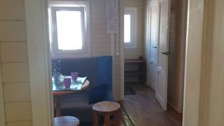 Садовый Домик за день, 36 кв.м. две спальни, кухня 12кв.м санузел