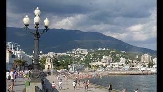 Отдых в Крыму. Ялта. Набережная. Пляж.