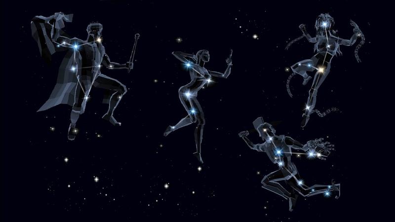 Легенды Космоса Созвездия Кассиопея Цефей Андромеда и Персей