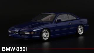 Баварская легенда: BMW 850i /// Minichamps /// Масштабные модели автомобилей 1990-х 1:43 /// Раритет