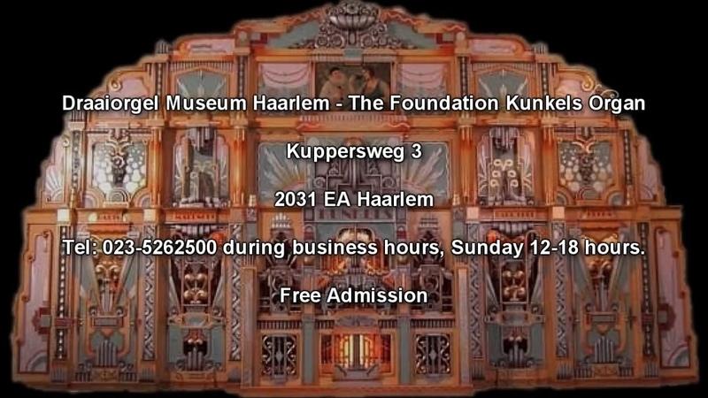 Hungarian Rhapsody No 2 - The Kunkels Organ Draaiorgel Museum Haarlem