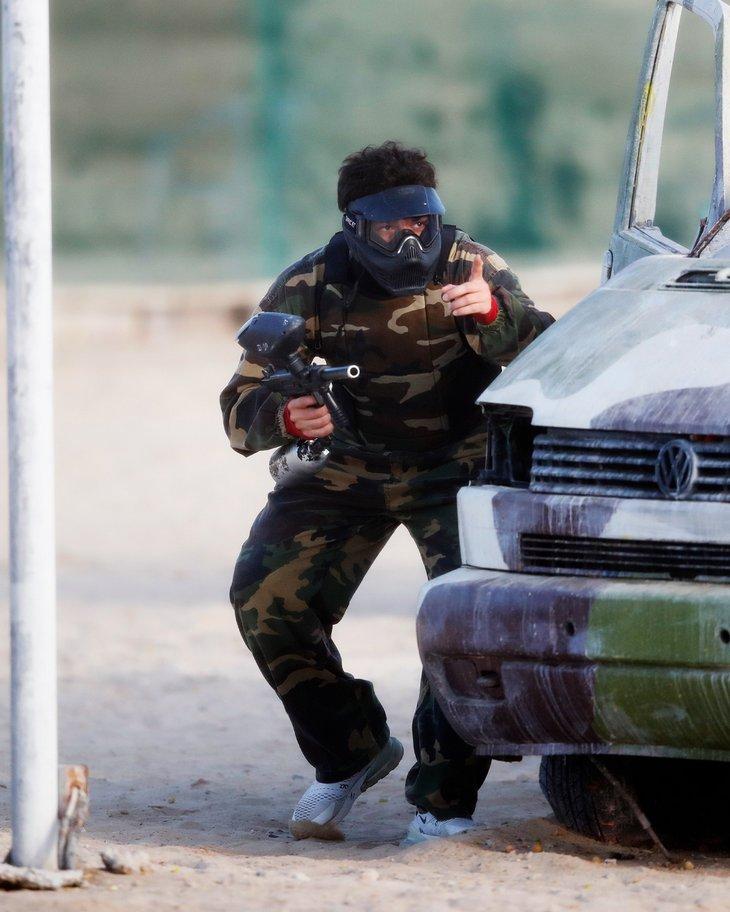 «Спартак» в Дубае сыграл в пейнтбол (Фото)