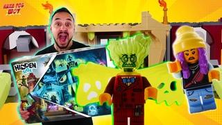 ПАПА РОБ ПОПАЛ В МИР ПРИЗРАКОВ! LEGO HIDDEN SIDE: ШКОЛА С ПРИВИДЕНИЯМИ НЬЮБЕРИ - ИСТОРИЯ СБОРКИ! 13+