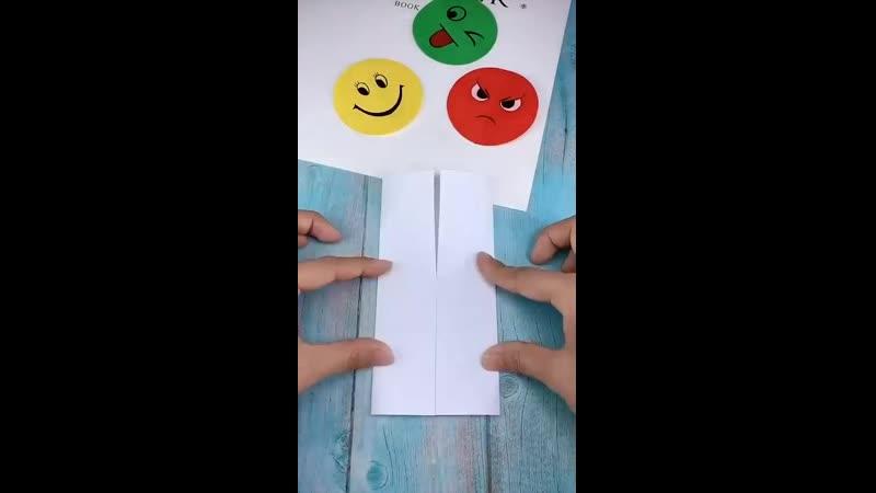 🎭 Кубик рубика Эмоции для детей своими руками который отражает настроение в начале конце занятия😆🤩Цель развитие эмоциональн