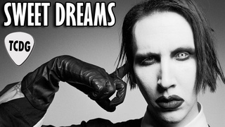 How To Play Sweet Dreams On Electric Guitar | Marilyn Manson Easy Beginners Lesson TCDG