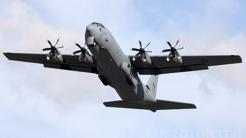 Локхид C-130 Геркулес / Открытое Небо / Кубинка