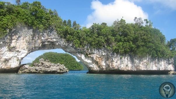 Скалистые острова Палау.