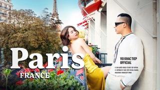[ Tập 10 ]-Ngọc Trinh và Vũ Khắc Tiệp chơi lớn đập hộp phòng 110 triệu ở Paris - Hotel Plaza Thenee