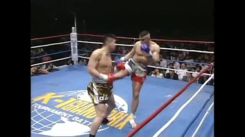 Jérôme Le Banner vs Masaaki Satake - 04/05/1995 [2]