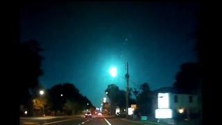 Жители Флориды увидели в небе голубой «шар»