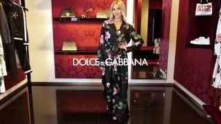 Новая коллекция Dolce&Gabbana // Женский образ // Фирменный бутик в Лакшери Store // Тренды 2020