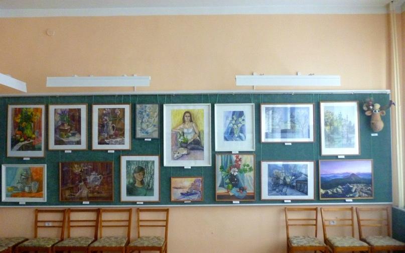 Персональная выставка художественного творчества молодых преподавателей, 2013 г.