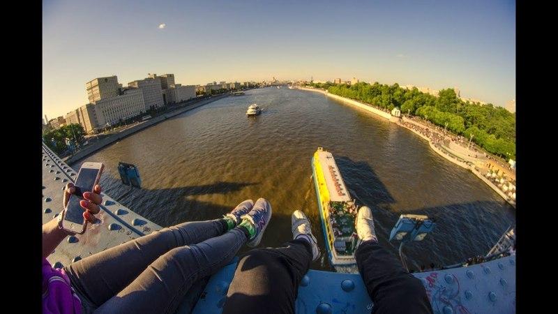 Чуть не упали с Моста. Побег от ЧОПОВ. Луганск - Москва