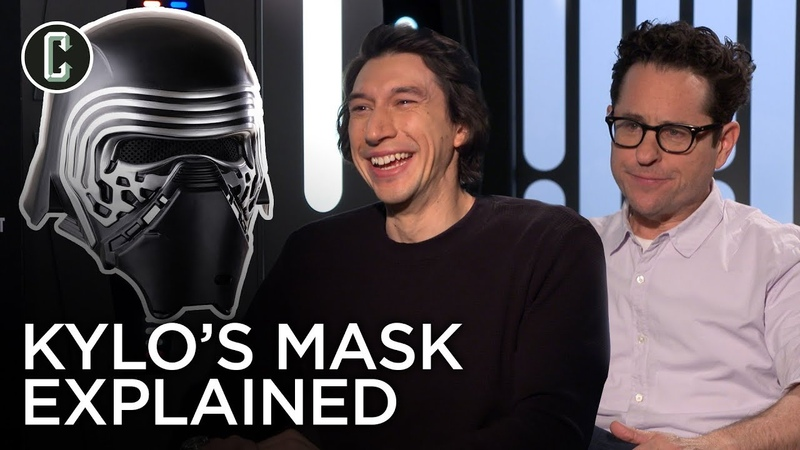 Adam Driver and J J Abrams Reveal the Importance of Kylo Ren's Helmet in The Rise of Skywalker