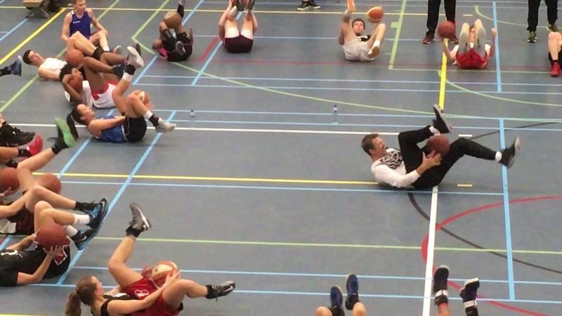 Ganon Baker Player Workout (Hilversum, 2017) - Core Workout