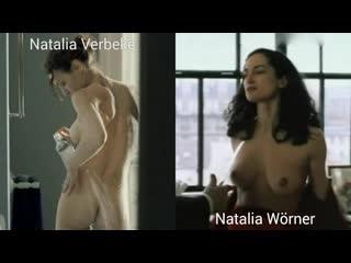 Nude actresses (Natalia Verbeke, Natalia Wrner) in sex scenes / Голые актрисы (Наталия Вербеке, Наталия Вёрнер) в секс. сценах