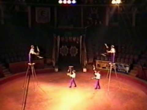 Vova's act with three other boys in 2000