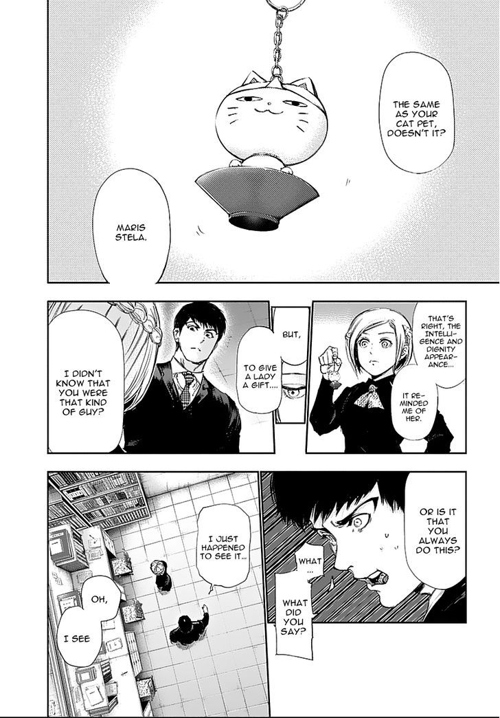 Tokyo Ghoul, Vol.12 Chapter 121 Bull's Eye, image #11