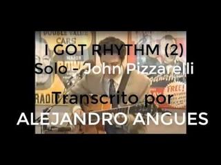 John Pizzarelli I Got Rhythm Transcription 2 + TAB