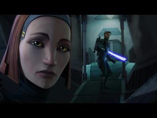 Бо-Катан помогает Оби-Вану сбежать с Мандалора