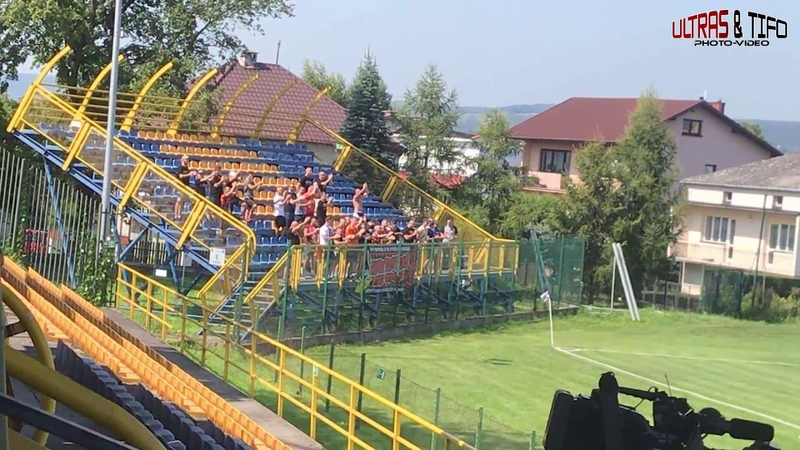 PL Jutrzenka Giebułtów KSZO Ostrowiec Świętkrzyski KSZO Fans 2019 08 31
