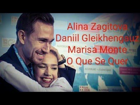 Alina Zagitova Daniil Gleikhengauz Marisa Monte O Que Se Quer