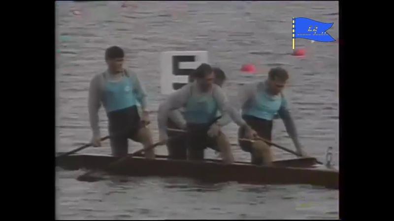 C4 1000m final A ICF Canoe sprint World Championships Dartmouth 1997
