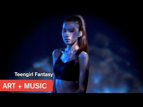 Teengirl Fantasy x Hoody 후디 U Touch Me Art Music MOCAtv
