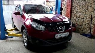 Замена задних сайлентблоков переднего рычага Nissan Qashqai 2,0 Ниссан Кашкай 2012 года